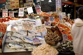 Pike Place Fish Market on Pike Place Market Fish Stall Jpg